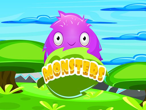 Monster Color Match spiel