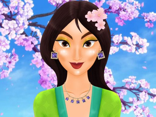 Mulan's Magic Makeover spiel